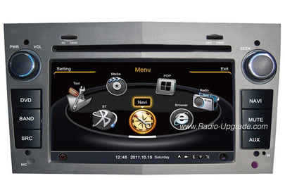 GMC Terrain Aftermarket GPS Navigation Car Stereo (2006-2011)