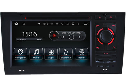 Audi A6 S6 RS6 GPS Navigation Car Stereo (1998-2004)