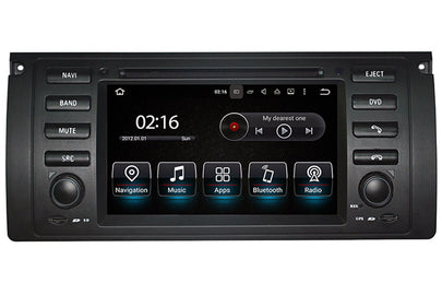 BMW 5 Series / X5 / M5 Android OS Navigation Car Stereo (1995-2007)