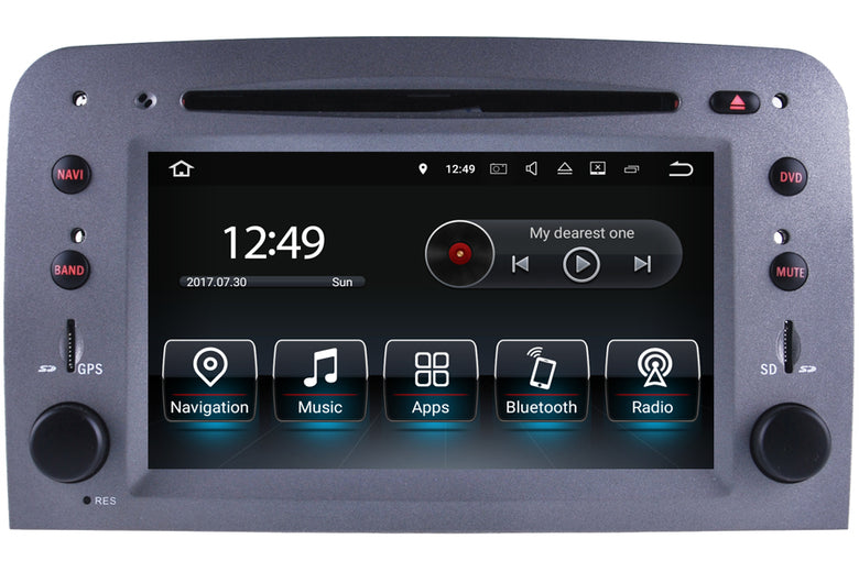 Alfa Romeo 147 and GT Aftermarket GPS Navigation Car Stereo (2005-2013)