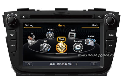Kia Sorento Aftermarket Navigation DVD Car Stereo (2013-2014)