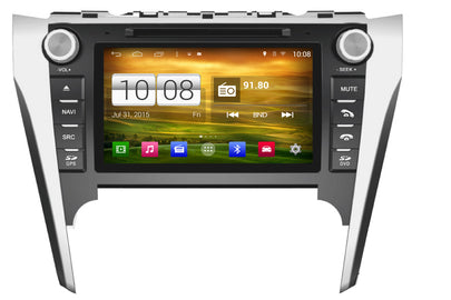 Toyota Camry Aurion Europe/Austraila Android OS Touchscreen Navigation Car Stereo (2012-2013)