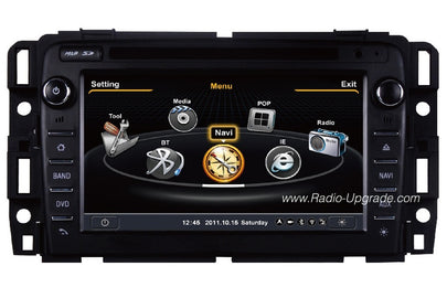 GMC Acadia Aftermarket Navigation Car Stereo (2013)