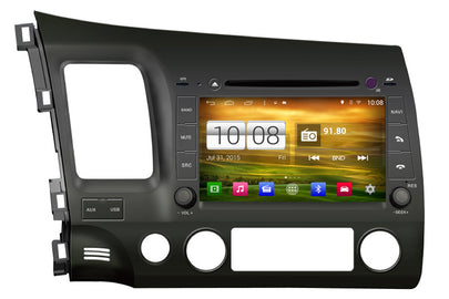 Honda Civic Android OS GPS Navigation Car Stereo (2006-2011)