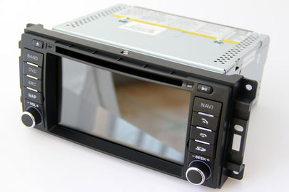 Jeep Wrangler Liberty Cherokee Bluetooth GPS Navigation Car Stereo (2007-2015)