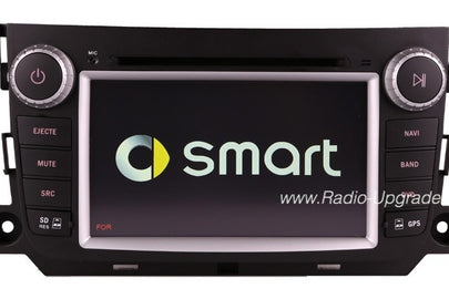 Smart Fortwo Aftermarket GPS Navigation Car Radio (2011-2013)