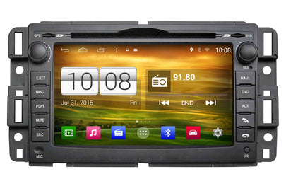 GMC Acadia Savana Sierra Yukon Android Car GPS Navigation DVD Car Stereo (2008-2014)