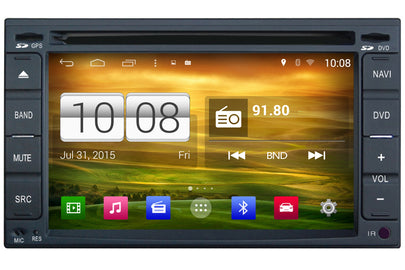 Universal Double Din Android OS GPS Navigation Car Stereo