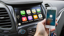 Apple CarPlay Interface for Android-Based S160 Radios