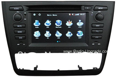 BMW 1 Series Navigation Car Stereo For Auto-AC (2004-2015)