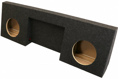 "Chevrolet Silverado / GMC Sierra Regular Cab Dual 10"" SprayLined Subwoofer Box (2007-2013)"