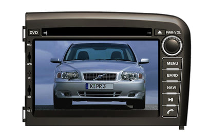 Volvo S80 Aftermarket GPS Navigation DVD Car Stereo (1998-2006)