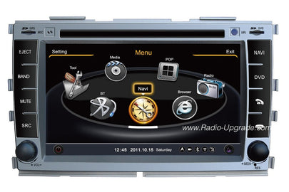 Kia Forte Aftermarket Navigation DVD Car Stereo (2009-2012)