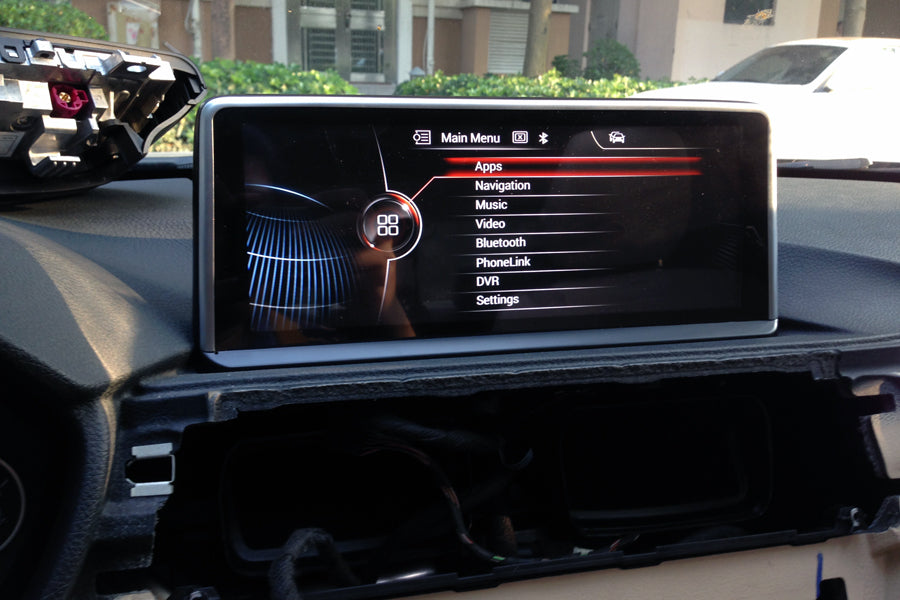 bmw f30 navigation player
