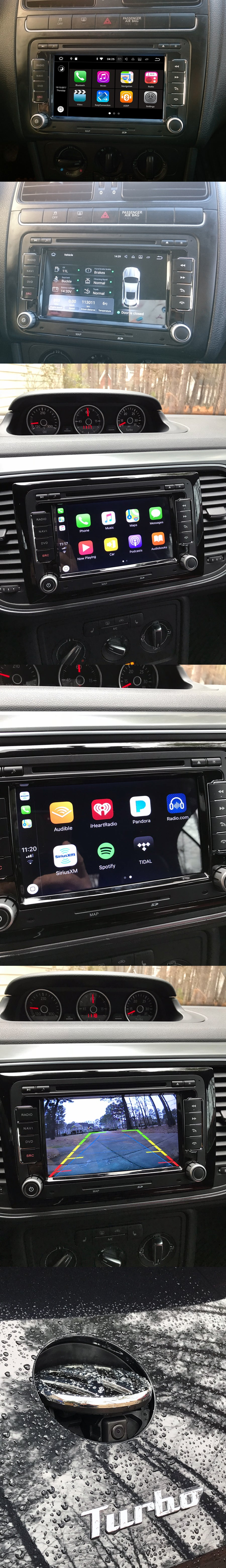 vw aftermarket navigation radio