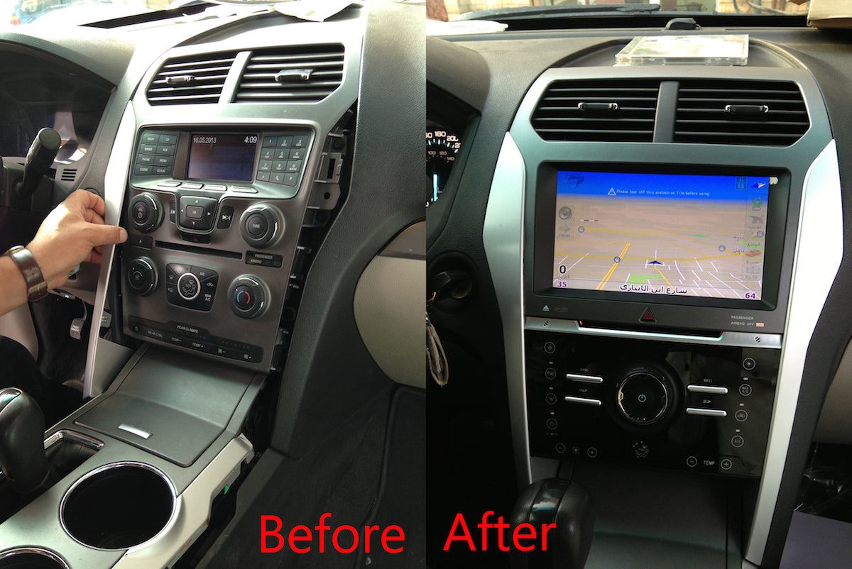 Ford Explorer Android Gps Navigation Car Stereo 2010 2018