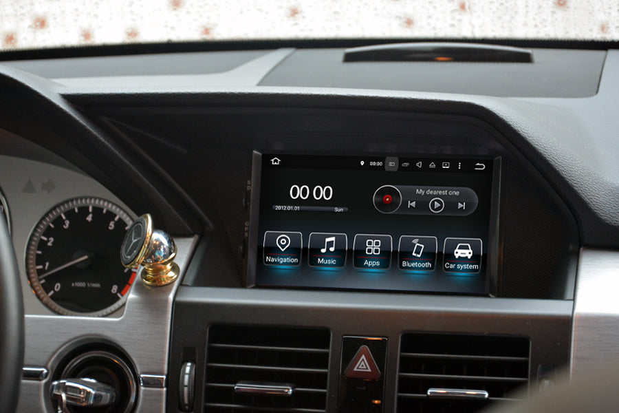 aftermaret Mercedes-Benz GLK X204 navigation system