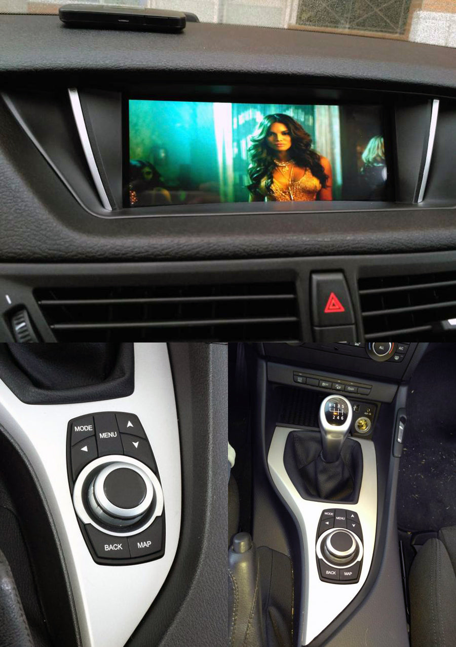 aftermarket navigation installed on bmw x1 e84