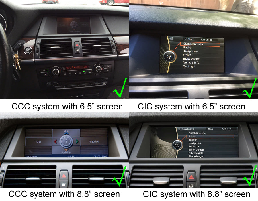 BMW X5 (E70) X6 (E72) Navigation Head Unit
