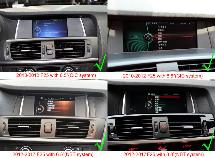 bmw x3 f25 navigation head unit