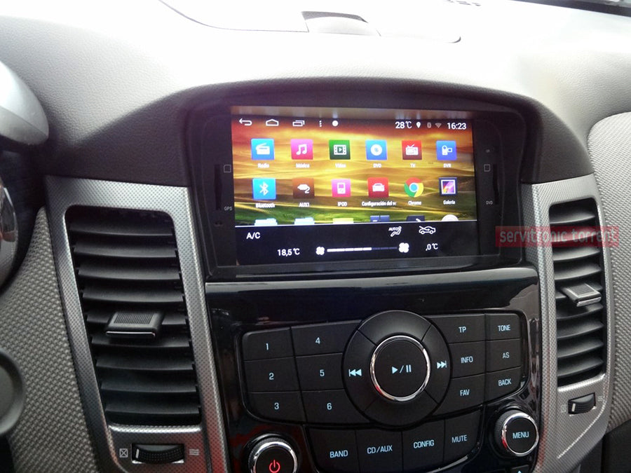 chevy cruze aftermarket navigation