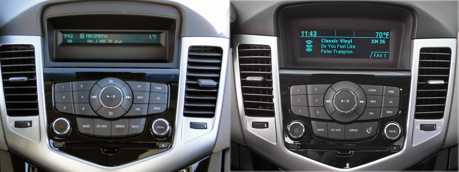 chevy cruze factory radio