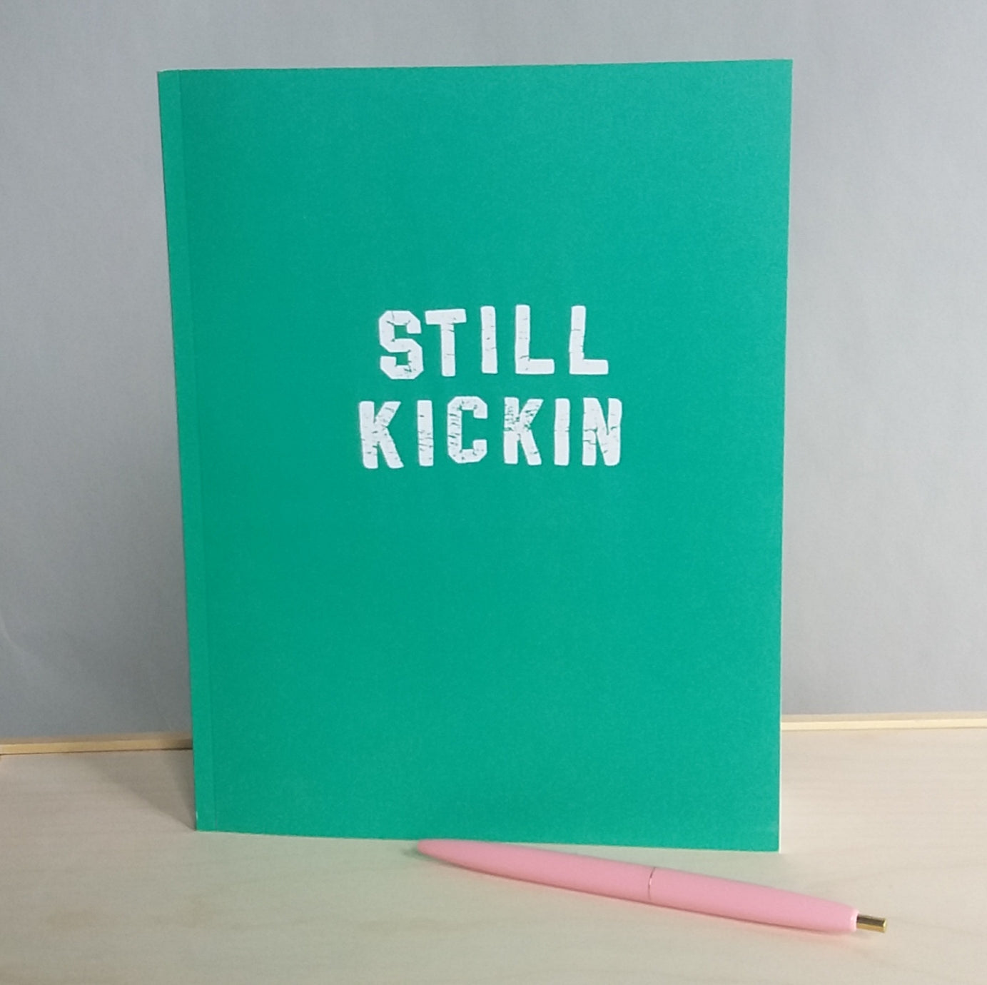 Still Kickin Dot Journal