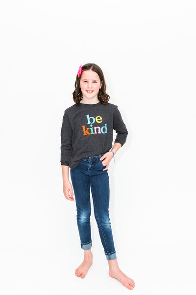 Be Kind Long Sleeve Tee - Youth