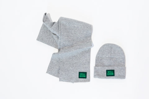 Keep Your Head Up Hat & Scarf Set