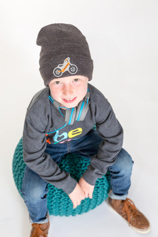 Joyful Kid Knit Hat