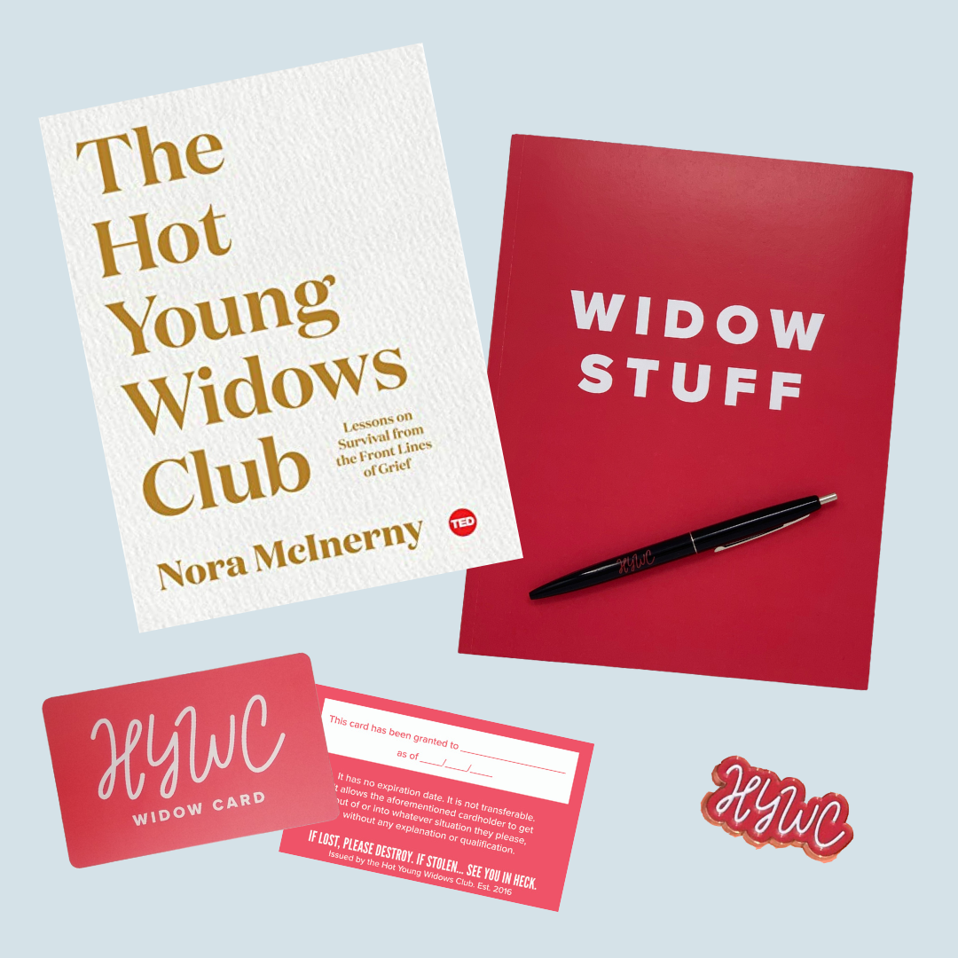 Hot Young Widows Club Gift Set