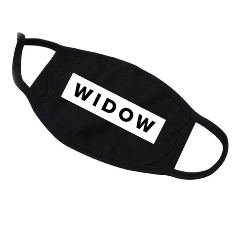 Widow Reusable Face Mask - Adult