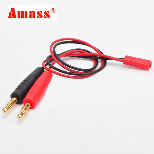 AMASS JST Plug Connector 20AWG 30cm Charging Cable Wire