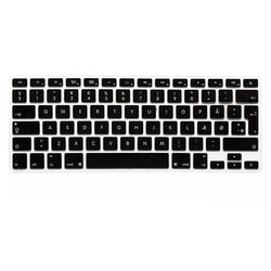 Translucent Colorful Silicone Keyboard Protective Film For Macbook13.3 15.4 European Version Danish