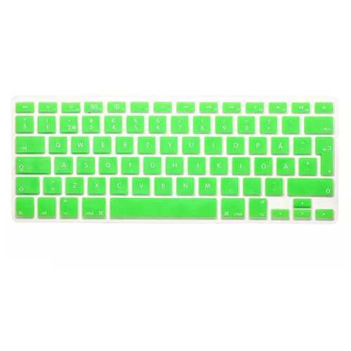Translucent Colorful Silicone Keyboard Protective Film For Macbook13.3 15.4 European Version Swedish