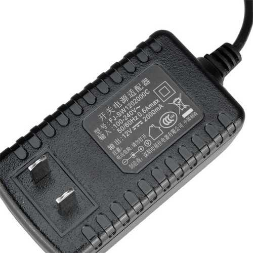 Universal 3.5mm 12V 2A US Power Adapter AC Charger For Tablet