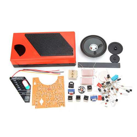 DIY 8 Tube Radio Kit Electronic Spare Part