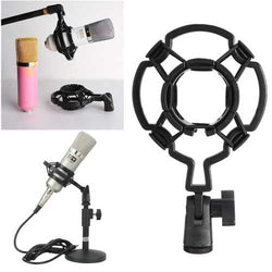 Studio Mic Shock Mount Holder For Large Diaphram Condenser Mic Clip