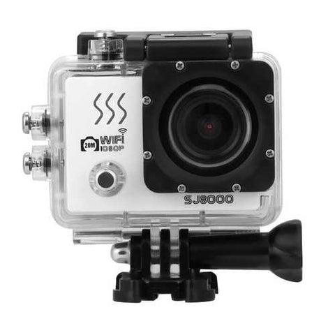 SJ8000 Sport Action Camera Moving WIFI 1080P Full HD CMOS 170 Degree Waterproof 40m