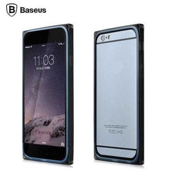 BASEUS 2 in 1 Aluminum Frame with Soft TPU Frame Hybrid Bumper Case Cover For Apple iPhone 6 4.7