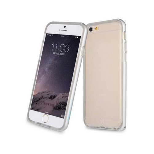BASEUS Ultra Slim Alloy Bumper Frame TPU Back Case Hippocampus Buckle For iPhone 6 6 Plus