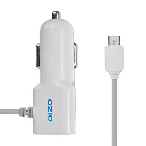 C-CC10S 5V 1000mA Multifunction Car Charger for iPhone 5S 6 6S HTC LG Huawei Samsung