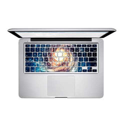 PAG Spinning Fireball PVC Keyboard Bubble Free Self-adhesive Decal For Macbook Pro 13 15 Inch