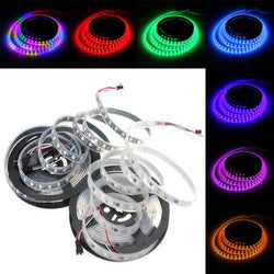 5M 57.5W DC 12V Waterproof IP67 WS2811 300 SMD 5050 LED RGB Changeable Flexible Strip Light