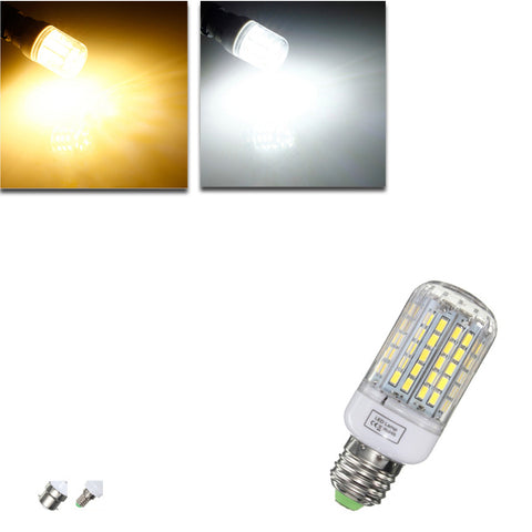 E27/E14/B22 Dimmable 9W AC110V LED Bulb White/Warm White 96 SMD 5730 Corn Light Lamp