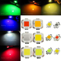 30W DC32-36V High Power LED Chip Light Lamp Blue/Green/Red/Amber Home Car For DIY