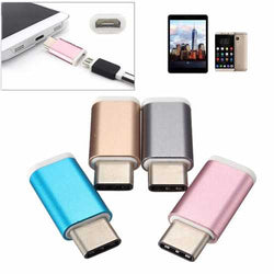 USB 3.1 Type-C Male to 5Pin Micro USB Female Converter Adapter