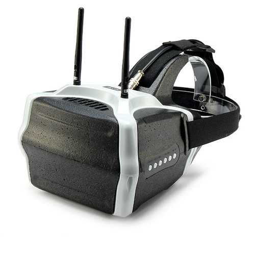 SJ-V01 5.8G 40CH FPV Goggles 7 Inch 1280x800 HD Video Glasses with HD Port Input For RC Drone