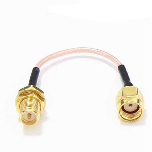 120mm Low Loss Antenna Extension Cord Wire Fixed Base SMA RP-SMA For RC Drone