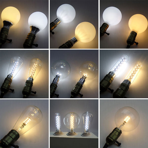 Vintage Retro Dragon Ball Super Bright E27 LED Edison Globle Corn Bulb AC 220V